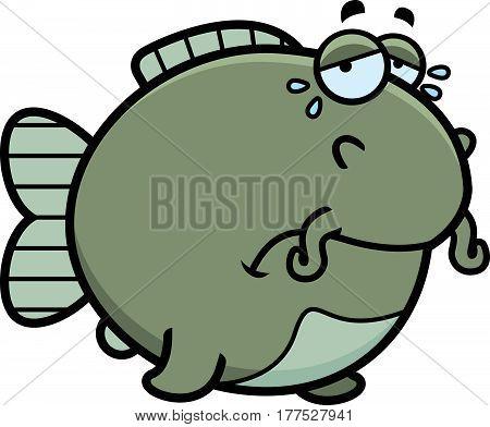 Crying Cartoon Catfish