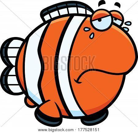 Crying Cartoon Clownfish