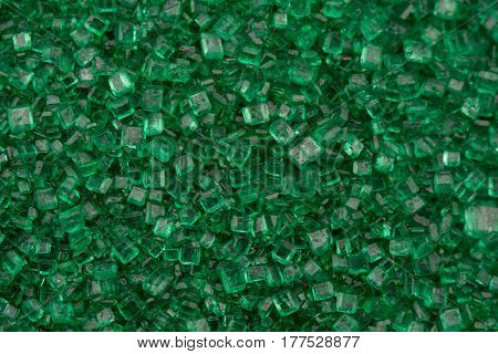 Green Sugar Close Up Filling Background Image
