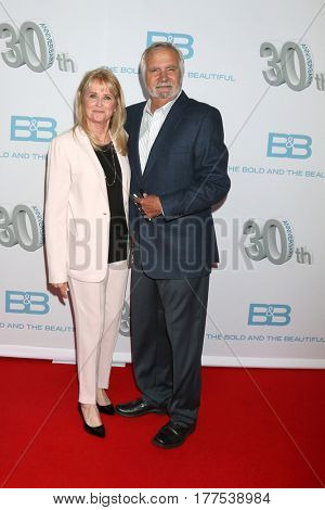 LOS ANGELES - MAR 19:  Laurette McCook, John McCook at the
