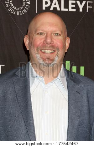 LOS ANGELES - MAR 18:  Marc Guggenheim at the 34th Annual PaleyFest Los Angeles - The CW at Dolby Theater on March 18, 2017 in Los Angeles, CA