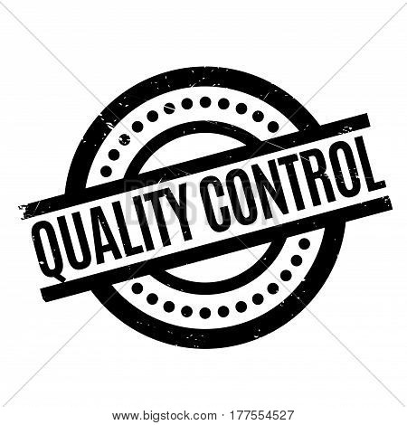 Quality Control rubber stamp. Grunge design with dust scratches. Effects can be easily removed for a clean, crisp look. Color is easily changed.