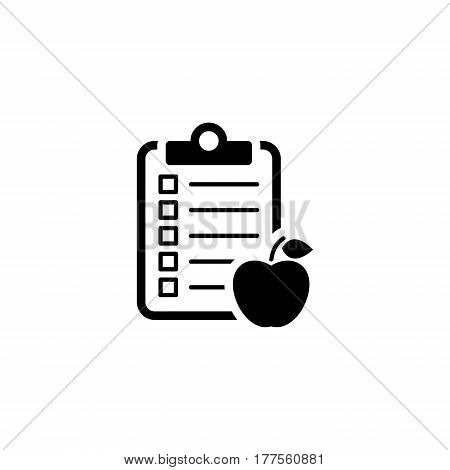 Healthy Eating Icon. Flat Design Isolated Illustration.