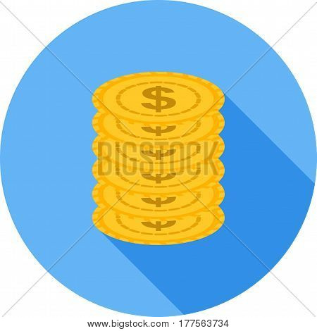 Casino, slot, machine icon vector image. Can also be used for casino. Suitable for use on web apps, mobile apps and print media.