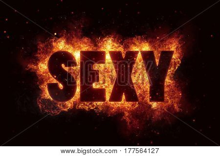 sexy sex adult xxx text on fire flames explosion burning explode