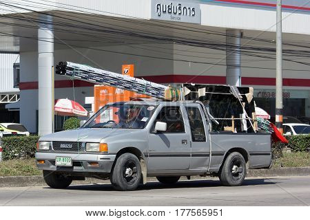 Private Isuzu Pick Up Truck.