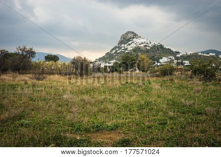 Landscape at Skiros island, Nothern Sporades, Greece