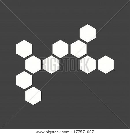 Chemical, structure, chemistry icon vector image. Can also be used for chemistry. Suitable for mobile apps, web apps and print media.