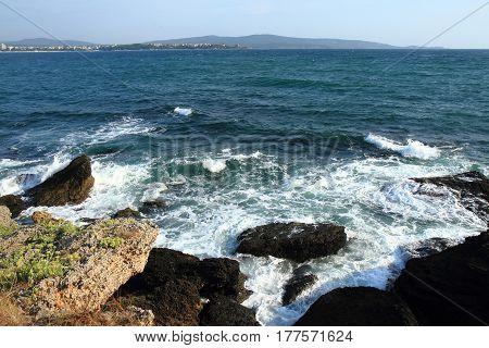 Bulgarian Sea Detail