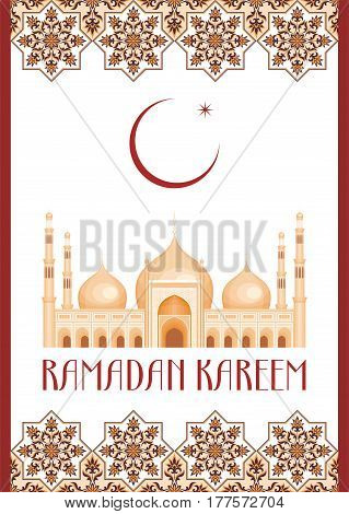Ramadan Greeting Card White.eps