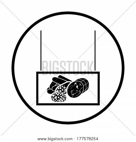 Sausages Market Department Icon
