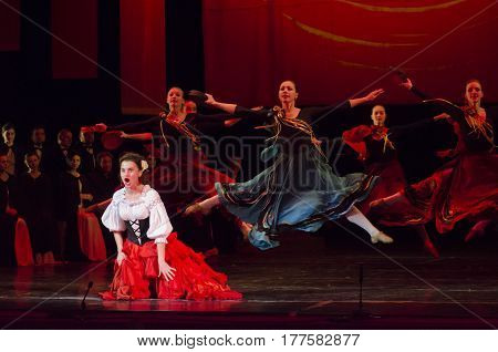 Theatrical Show Vivat Chayka