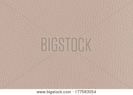 Pattern light beige artificial leather close-up horizontally