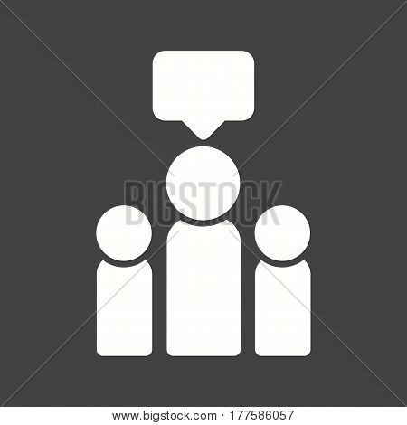 Advocacy, community, protection icon vector image. Can also be used for community. Suitable for mobile apps, web apps and print media.