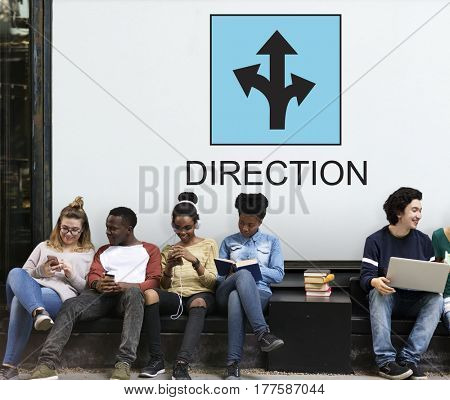 Direction Decision Destination Intersection Travel Journey