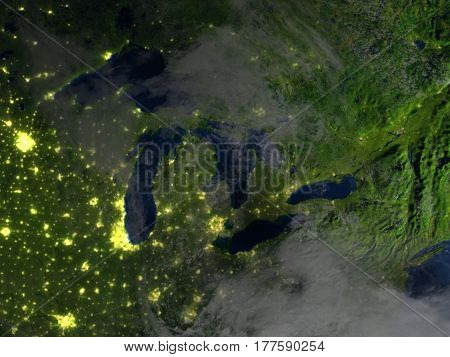 Big Lakes On Planet Earth