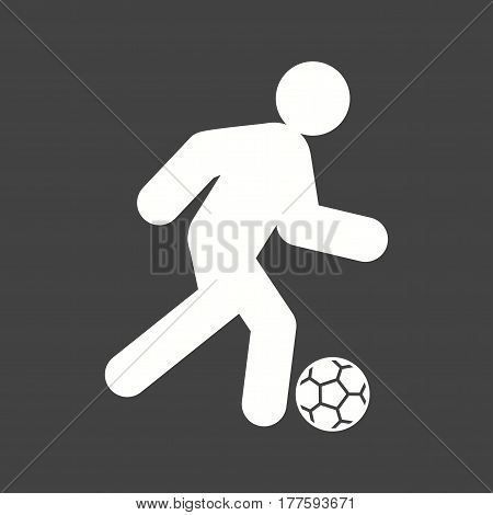 Soccer, football, field icon vector image. Can also be used for olympics. Suitable for mobile apps, web apps and print media.
