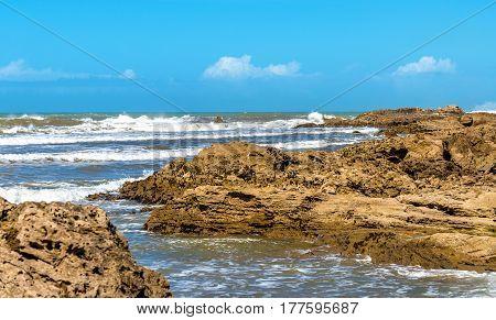 Atlantic shore at Essaouira - Morocco, North Africa