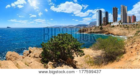 Benidorm Coast Sunshine View (spain).