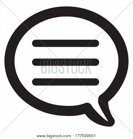 Chat discussion talking computer icon bubble speech text