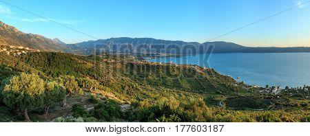 Adriatic Sea Sunset View (albania).