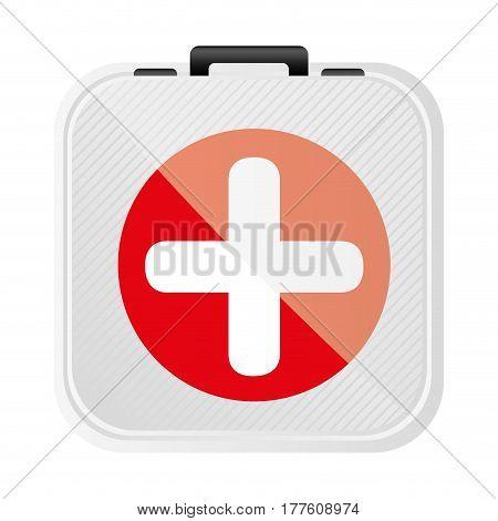 symbol first aid kit icon, vector illustration design