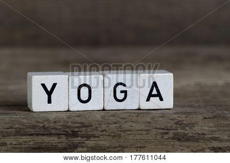 Yoga, Written In Cubes