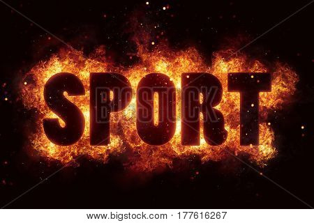 sport sports text flame flames burn burning hot explosion explode