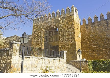 The Olds Walls Of Cordoba, Andalusia Region, Spain.