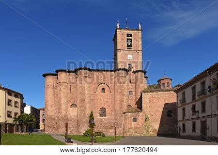 Santa Maria La Real, Monastery, Najera, Way,st. James. La Rioja. Spain
