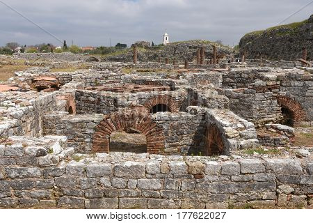 Roman Ruins Of The Ancient City Of Conimbriga, Beiras Region, Portugal