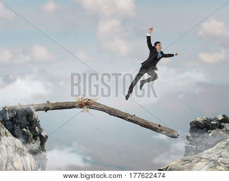Overcoming fear of failure . Mixed media . Mixed media