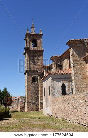 Church Lady Rocamador, Valencia De Alcantara, Caceres Province, Extremadura, Spain