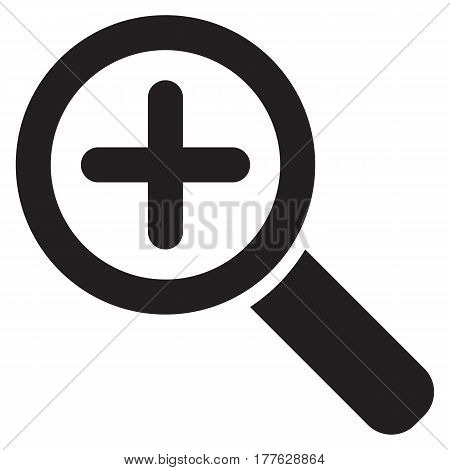 Zoom symbol airlines magnifying glass zoom computer icon