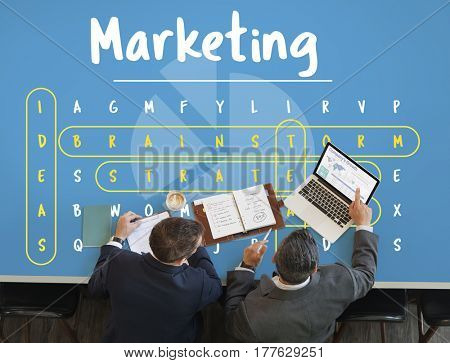 Marketing Word Search Game Vocabulary Challenge
