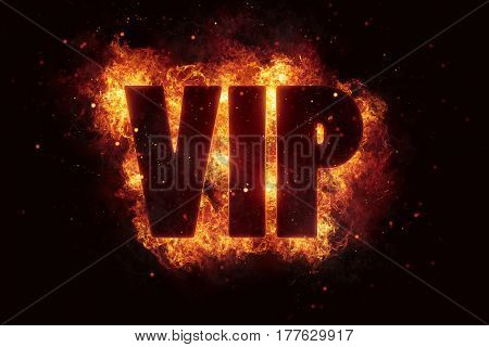 vip text flame flames burn burning hot explosion explode
