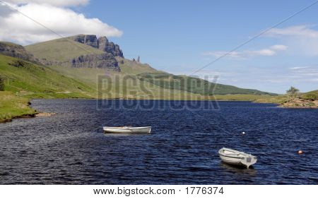 View Of The Old Man Of Storr