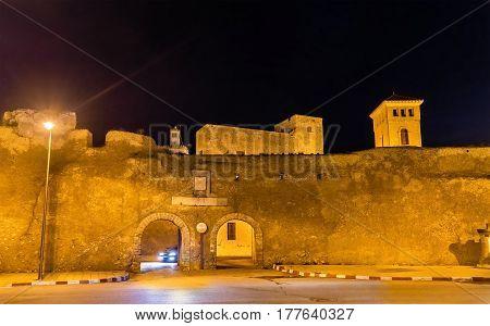 Walls of the Portuguese City of Mazagan at El-Jadidia - Morocco