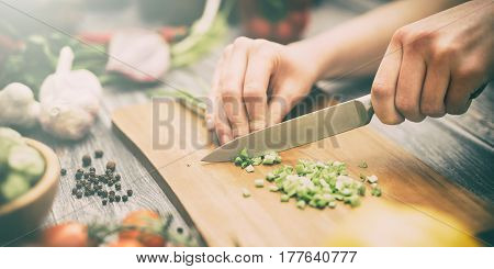 chef cooking food kitchen restaurant cutting prepare cook hands healthy hotel