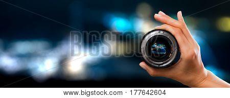 photography view camera photographer lens lense through video photo digital