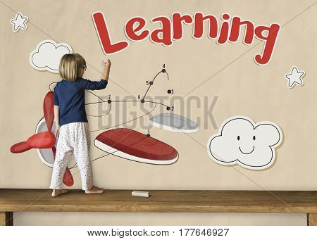 Childhood Playful Creative Learning Icon