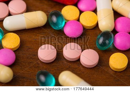 different pills heap mix therapy drugs