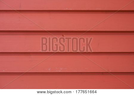 Exterior red wooden lining as a background