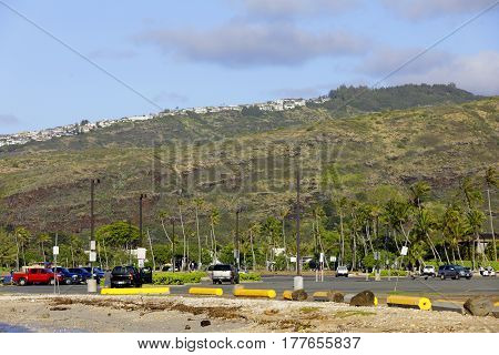 Stock photo of Maunalua Bay Beach Park