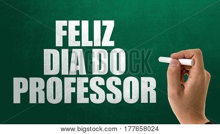 Happy Teachers Day (in Portuguese)