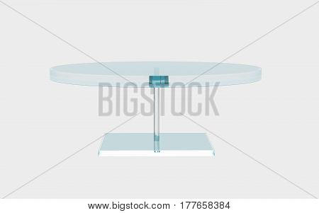 Round Of Glass Table
