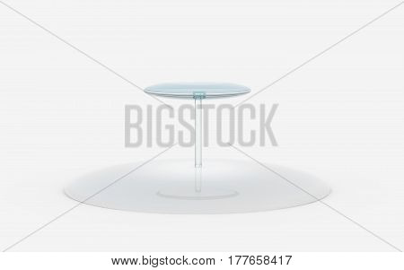 Round Of Glass Tiers Stand