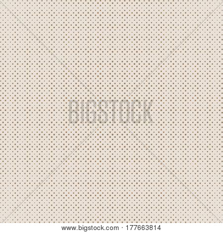 Brown background with dots. Abstract background with halftone dots design. Vector illustration.