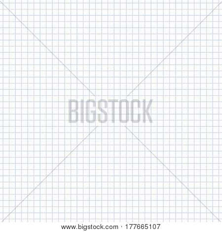 Grid geometric pattern. Seamless vector pattern in cells. Similar to paper texture.
