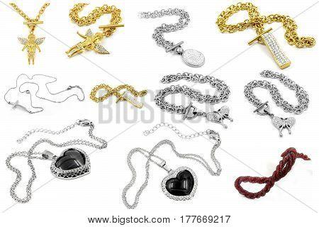 Jewelry - Big Set Of Necklaces